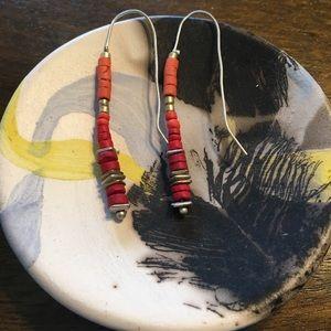 Lucky Brand Beaded Drop Earrings